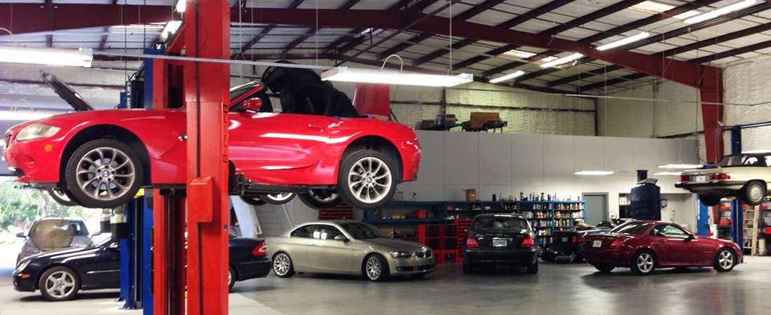 German Cars of Sarasota Repair shop mechanics working in Sarasota