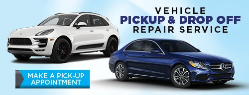Vehicle Pickup and Drop Off Repair Service. Click for Details.